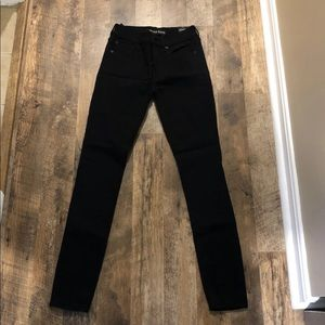 - Women's Vintage Black Express Jeans/Jeggin…